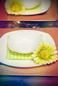 Ontbijttafel — Stockfoto