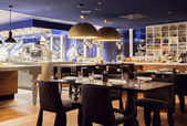 Modern restaurant — Stock Photo