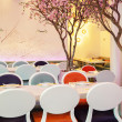 Spring restaurant — Stock Photo