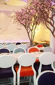Spring restaurant — Stock Photo