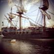 Постер, плакат: Historical ship