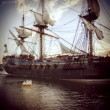Historical ship - Stock Photo