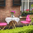Stock Photo: Home terrace