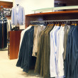 Man dress shop — Stock Photo