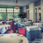 Classic interior of restaurant — Stock Photo #27377255