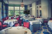 классический интерьер ресторана — Стоковое фото