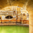 Roman terms in Bath — Stock Photo