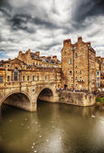 Bath historical bridge — Stock Photo