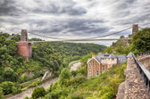 View at Bristol bridge — Stock Photo