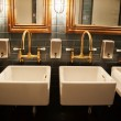 Stylish washroom in restaurant — Stock Photo #31148661