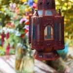 свет в саду осенью — Стоковое фото