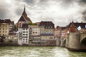 Basel panorama — Stock Photo