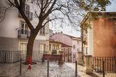 Lisbon's city street — 图库照片