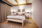Countryside villa's bedroom  — Stock Photo