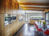 モダンなスタイルでキッチン — ストック写真