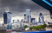 Business center of London — Stock Photo