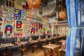 Mexican  restaurant in contemporary style — Стоковое фото