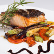 Grilled Fish — Stockfoto #12366897