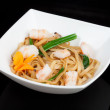 Japanese noodles with seafood — Stock Photo #12366900