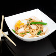Japanese noodles with seafood — Foto de Stock