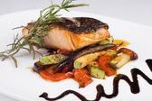 Ryba z grilla — Zdjęcie stockowe