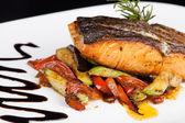 Peixe grelhado — Foto Stock