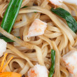 Japanese noodles with seafood — Stock Photo #13291922