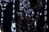 Cristalli di vetro lampadario — Foto Stock