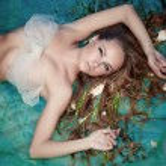 Mermaid, closeup portrait, studio shot — Stock Photo #13805514