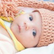 Stock Photo: Beautiful newborn baby