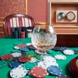 Poker chips — Stock Photo #22062087