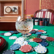 Poker chips — Stock Photo