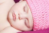 Beautiful newborn baby — Stock Photo