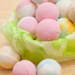 Colored marshmallows — Stock Photo #22271159