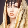 Stock Photo: Fashion woman in arabic style