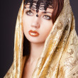 Fashion woman in arabic style — Stock Photo