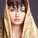 Fashion woman in arabic style — Stock Photo #23511173