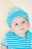 Beautiful baby boy, four months — Stock Photo