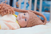 Beautiful newborn baby — Stock Photo