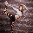 Modern ballet dancer dancing — Stock Photo
