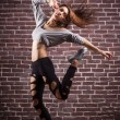 Modern ballet dancer dancing — Stock Photo #31245731