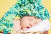 Beautiful sleeping baby — Stock Photo