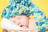 Lindo bebê dormindo — Foto Stock
