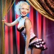 Stock Photo: Cabaret dancer