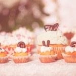 gâteau de la Saint-Valentin — Photo