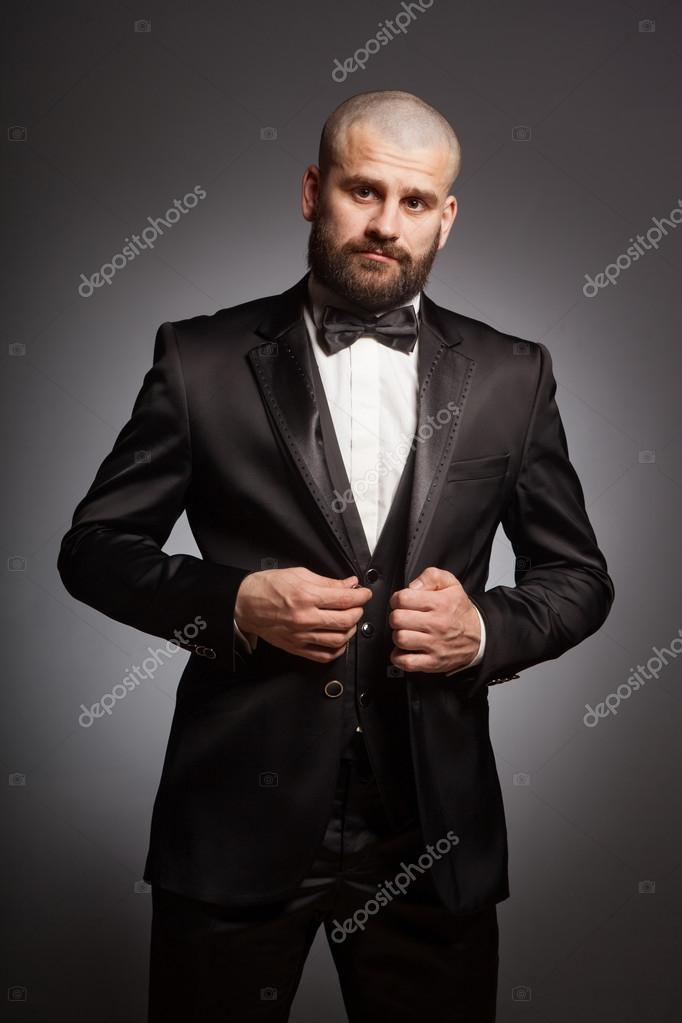 Стильные бороды для лысых мужчин