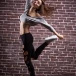 Beautiful modern ballet dancer — Stock Photo #46781517