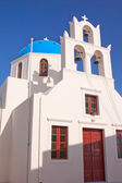 Santorini Cathedral — Stock Photo