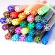 Coloured Pens Close Up — Stock Photo #30676033