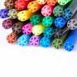 Coloured Pens — Stock Photo